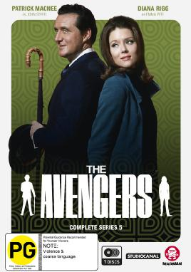 The Avengers Complete Series 5