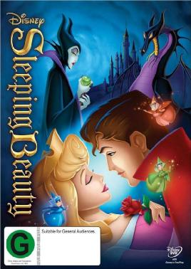 Catalogue for Sleeping beauty DVD