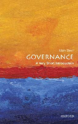Catalogue record for Governance: a Very Short Introduction