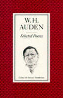 W H Auden poetry book cover