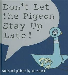 Catalogue link for Don't let the pigeon stay up late