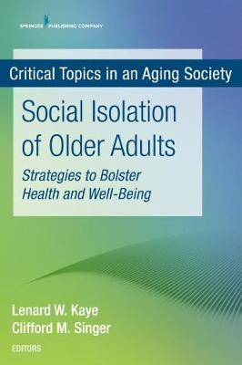 Catalogue record for Social isolation of older adults
