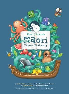 Kuwi & friends Māori picture dictionary