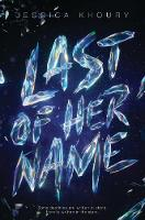 Catalogue link for Last of her name