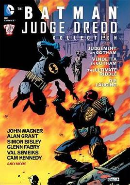 Catalogue record for The Batman/Judge Dredd Collection