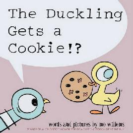 Catalogue link for The duckling gets a cookie!?