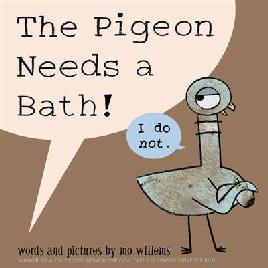 Catalogue link for The pigeon needs a bath