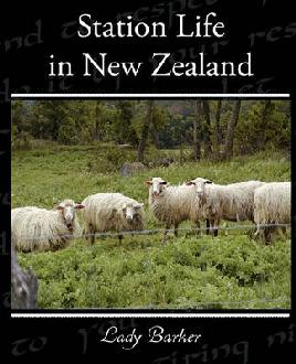 Cover of 'Station Life in New Zealand' by Lady Barker