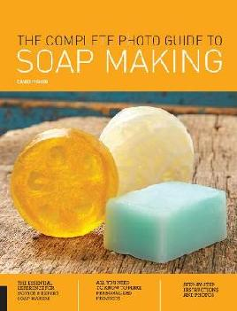 Catalogue record for The complete photo guide to soap making