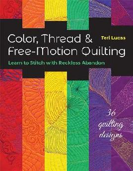 Catalogue record for Color, thread & free-motion quilting