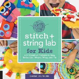 Catalogue record for Stitch and string lab for kids