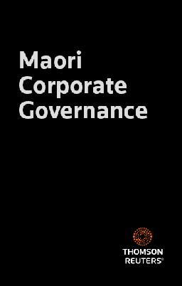 Catalogue record for Waking the Taniwha: Māori Governance in the 21st Century
