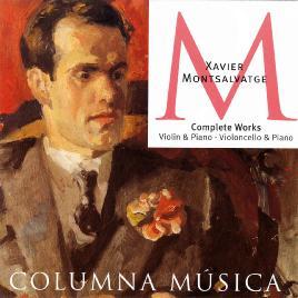 Complete works, violin & piano, violoncello & piano