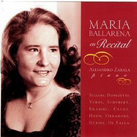 María Ballarena En Recital