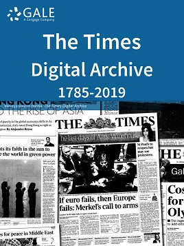 The Times Digital Archive 1785-2010