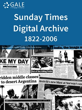 The Sunday Times Digital Archive, 1822-2006
