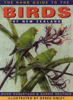 Cover of The hand guide to the birds of New Zealand