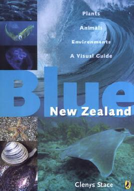 Book Cover of Blue New Zealand
