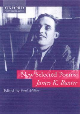 Cover for New Selected Poems by James K Baxter