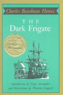 Book cover: The dark frigate