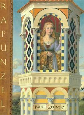 Book cover of Rapunzel