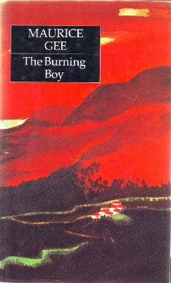 Cover of The burning boy