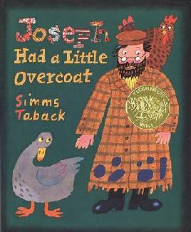 Book cover of Joseph had a little overcoat
