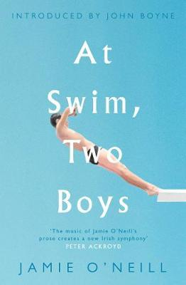 cover of At swim, two boys