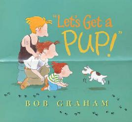 Cover of Lets get a pup