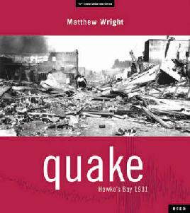 Cover of Quake: Hawke's Bay 1931