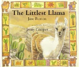 Book Cover of The Littlest Llama