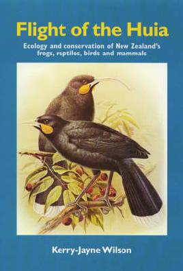 Cover of The Flight of the Huia