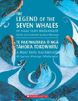 Book Cover of Legend of the Seven Whales