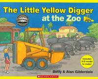 Cover of The Little Yellow Digger at the Zoo