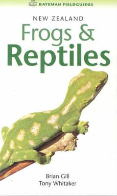 Cover of New Zealand frogs and reptiles