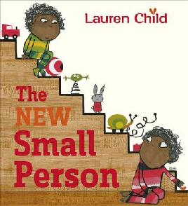 Book cover of the new small person