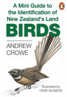 Cover of A mini guide to the identification of New Zealand's land birds