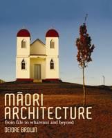 Cover of Maori architecture
