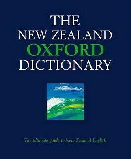 Cover of The New Zealand Oxford dictionary