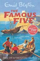 Cover of Five on a treasure island