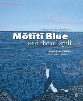 Cover of Motiti Blue and the Oil Spill