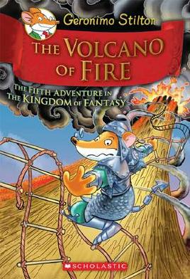 Cover of The volcano of fire