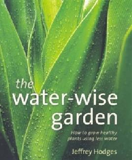 Book cover of water-wise garden
