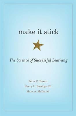 Book cover make it stick