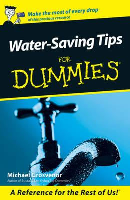 Cover of Water saving tips for dummies