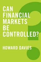 Cover of Can financial markets be controlled?