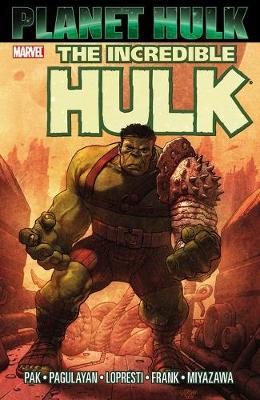 Cover of The Incredible Hulk, Planet Hulk
