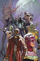 Cover of Guardians of the galaxy volume 3 guardians disassembled