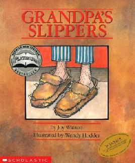 Cover of Grandpa's Slippers