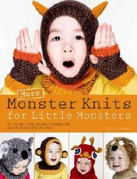 Cover of More monster knits